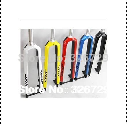 Java ultra-light carbon fork 26 27.5 29 all tyre size support disc mountain bike fork carbon fiber hard fork(China (Mainland))