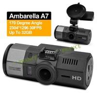 2014 New Dash Cam A95A Ambarella A7 Car Camera DVRs Video Recorder 1296P Full HD DVR+170 Degree Lens+WDR+H.264
