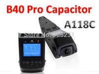 Free Shipping!B40 PRO Capacitor Version A118C Novatek 96650 H.264 HD 1080P Car Dash Camera DVR