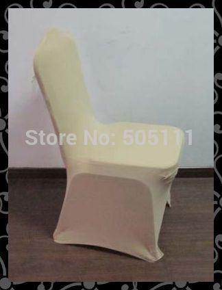 Free shipping hot sales 50pcs spandex chair cover / lycra chair cover / hotel chair cover #44(China (Mainland))