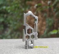1pc Para-biner Multi-Tool PB-7 Meteric Rare EDC Biner Atwood Stainless Steel Carabiner
