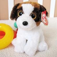 TY big eye plush toys dot dog  doll 15cm 3pcs /lot stuffed animal doll for baby Beanie Boos