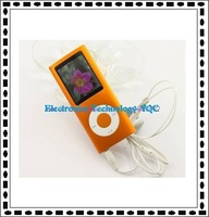 Free shipping 8GB MP4 player with touch slim and stylish MP4 Radio MP4 player
