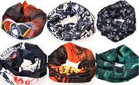 Free shipping Skull Design Multi Function Bandana Ski Sport Motorcycle Biker Scarf Face Mask 10pcs/lot