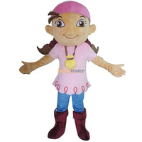 Fancytrader Real Pictures! Deluxe Jake and the Never Land Pirates Izzy Mascot Costume With Fan & Helmet Free Shipping! FT30622