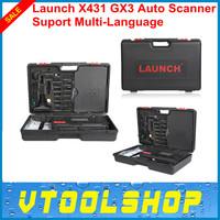 Top 2014 Newest Professional Car Diagnostic Tool Launch X-431 GX3 Multi-language X431 GX3 Update via E-mail +DHL Free Shipping