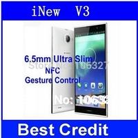 "OriginalInew V3 plus Inew V3 MTK6582 Quad Core Smartphone 5.0"" HD Screen Android 4.2 13MP Camera NFC OTG 6.5mm Thin Phone/Eva"