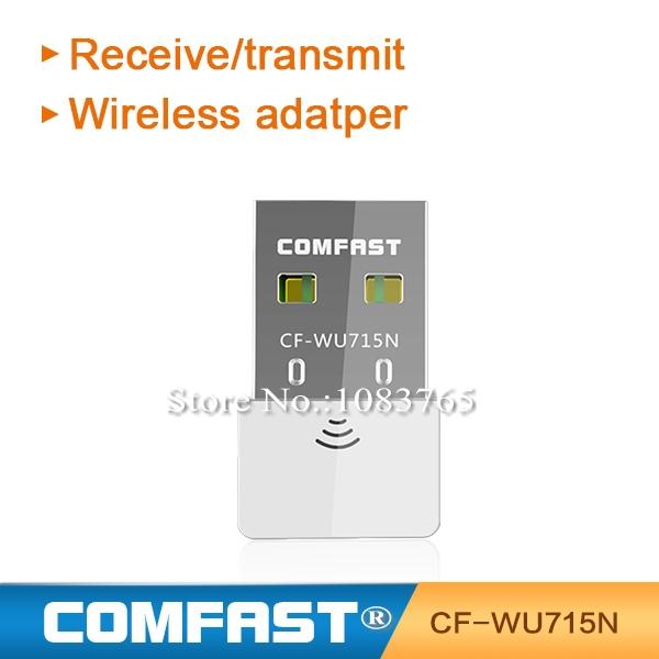 Desktop singal receiver/transmitter 802.11 n/g/b LAN 150Mbps Free Drop Shipping Wholesale USB WiFi Adapter(China (Mainland))