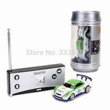 Nuovo mini coke can rc radio remote controlla la micro vettura da corsa hobby di veicoli giocattolo regalo di compleanno spedizione gratuita  (China (Mainland))