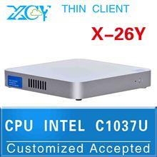 oem/odm ubuntu mini pc Top Spec Mini Pcs C1037U Dual-core X-26y support Rs232and  wifi