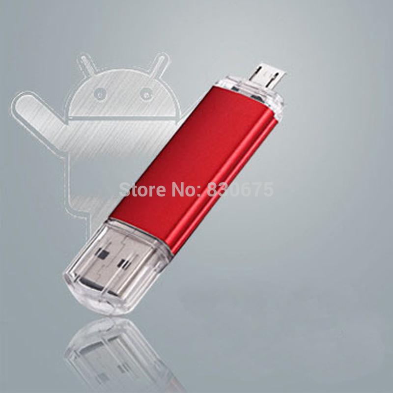 Smart phone USB Flash drive 64GB OTG USB Flash Drive Computer Micro USB Flash Drive U Disk for Android Phone(China (Mainland))
