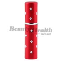 1PCS Easy Used red color Travel Perfume Atomizer Refillable Spray Empty Bottle free shipping