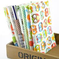 "2014 New Arrival 7 Piece 45CM*50CM Cotton Fabric Fat Quater Bundle for Bedding Sewing Cotton Tilda cloth ""Cute Cartoon I"" W1A4-2"