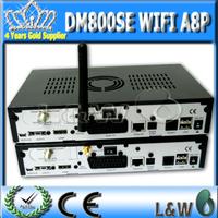DM800hd se wifi 300mbps WLAN inside dvb 800 se simA8P BCM4505 tuner set top box dm 800se wifi wholesale fedex free shipping