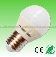 10pcs/lot! 3W 230-250lm 6LED Samsung SMD5630 AC220V aluminum E27 LED bulb,Warm white/Cold white home lighting,free shipping!