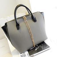2014 New Korz Designer  female Koreant Shoulder Messenger bags women leather totes  handbag  wholesale bolsas