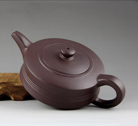 270ml high quality, Purple Clay, Yixing Raw ore Zisha teapot, tea pot double flat,on sale!!