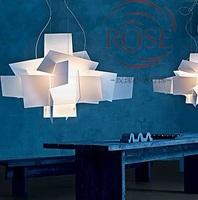 2014 Modern Foscarini Big Bang Stacking Creative Chandeliers Lighting Art Pandant Lamp Ceiling E27 LED Bulbs 90-260V D65cm/95cm
