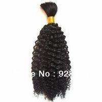5A or 6A TopGrade, unprocessed with cuticle Brazilian,100%Pure OriginVirginRemyHumanHair - KINKY CURLY HAIR BULK