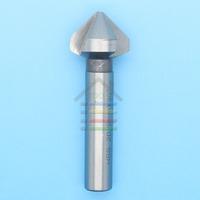 Hot 3 flute 20.5mm x90 Degrees HSS Chamfer Cutter Mill Drill Set Milling Cutting Tool Free Shipping