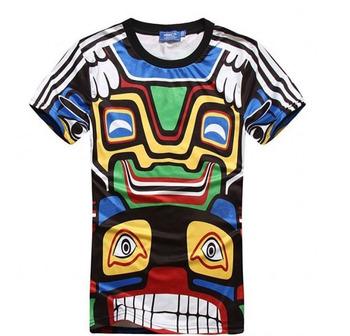 3D saint Paints Religion Jesus Virgin Church Heaven Slim Fitness Women Men Summer Cool T shirt Wholesale Tees top tshirt monster