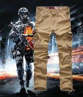 NEW MENS PLUS SIZE 4Xl, 5Xl, 36, 38 CARGO CASUAL COTTON WALK CARGO PANTS Utility Military Style Trousers Army green,Khaki,Black