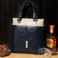 Free Shipping [2 Colors] Bai Mu Wang New Korean Man Bag Men Messenger Bags