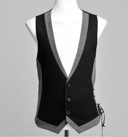 2014Free gift, the new men's cultivate one's morality suit vest, fashion design adornment collocation, stylish men for vest