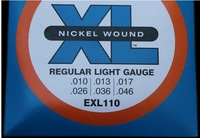 Nickel Wound Regular Light electric guitar string 010-046