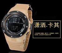 wholesale! High quality Fashion electronic watch sports watch waterproof multifunction swimming field sports watch free shipping