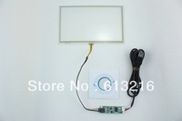 7 inch 4-Wire Resistive Touch Panel  + USB port Controller card +CD Room work with AT070TN90/TN92/TN94