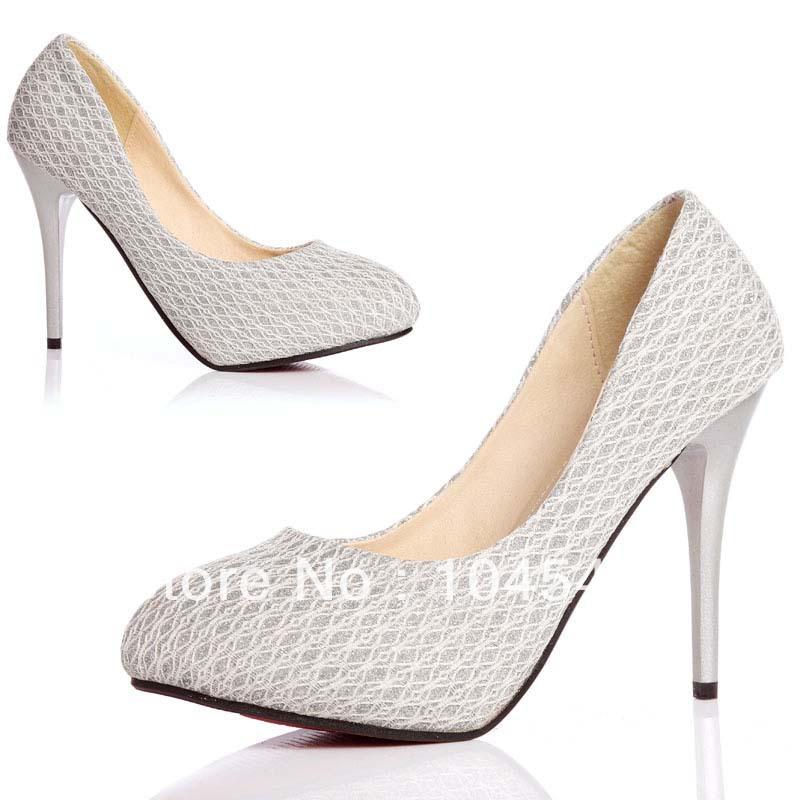 White Lace Sandals Lace White/ivory Stilettos
