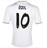 2014 Best thailand quality Real Madrid 13 14 Jersey 7Home Ronaldo Isco Ozil bale Di maria Modric Soccer jersey