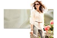 Silk habotai 8m/m/Width-114cm/100% Mulberry silk fabric/High quality silk soie fabrics/NO-04#Champagne/3Meters/Lot