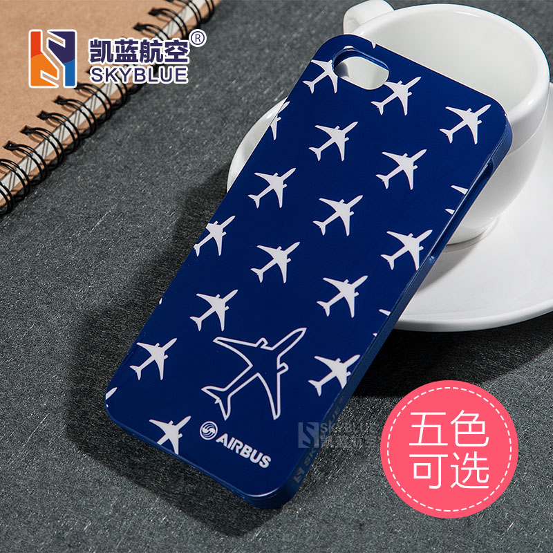 5 Colors Free Shipping New Case for iPhone 5 5S Boeing Airbus Plane Special Personality Design Soft Protective Cover Bag(China (Mainland))