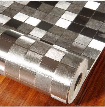 Achetez en gros papier miroir r fl chissant en ligne des for Miroir wallpaper
