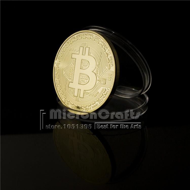 Hot Bitcoin art coin commemorative gold bullion numismatics monnaie de paris expanded metal gold coin collectible buy bitcoin(China (Mainland))