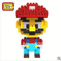 Free Shipping, 3D Educational Toys, Models assembled toys, Classic Cartoon LOZ Mini Diamond Blocks, Best Gift, Super Mario 9338