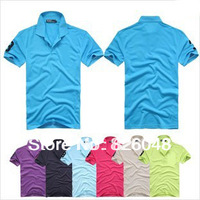 Free shipping new 2014 polo casual shirt men's shirts polo shirt men brand Camisas Short Sleeve men polo shirt for men