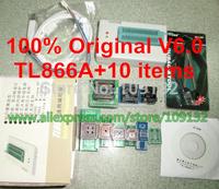 Free Shipping 100% Original New V6.0 MiniPro TL866A Programmer / TL866 Universal MCU Programmer + 10 free Items