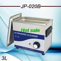 Free Shipping  AC110/220V  JP-020B 180W 40000 Hz Frequency PCB hardware lad equipment ultrasonic cleaner 3.2L machine