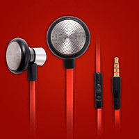 High Quality Brand Earphone Headphone Noise Isolating With Mic For MP3 / Mobile Phone