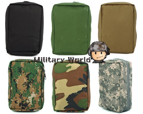 6 Camo Colors Airsoft Molle Military First Aid Kit Tac