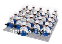 26pcs/lot 815 navy force Minifigure compatible with lego Building Block doll,Loose Brick accessory Sluban Decool mini figures