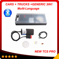 2014 Hot selling DS150E VCI TCS pro + DS150 Diagnostic 3 IN 1 with keygen in CD With Plactis Box with bluetooth In stock
