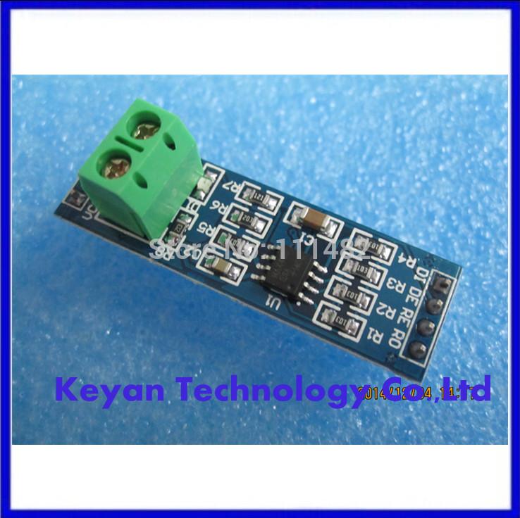 Free shipping 10PCS/LOT MAX485 module, RS485 module, TTL turn RS - 485 module, MCU development accessories(China (Mainland))