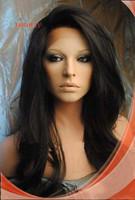 Stock Sunnymay Natural Straight  Brazilian virgin Human Hair Lace Front Wig .