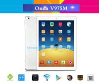 9.7 inch IPS Retina Screen Original Onda V975M Android 4.3 Tablet PC Quad Core 2.0GHz 2GB RAM 16GB/32GB Wifi Bluetooth HDMI