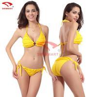 swimwear women bikinis set new 2014 bikini swimwear 10 -color petals Bikini latest fashion swimwear women Push Up Padded Cup