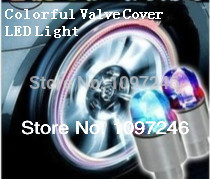 LED Cars Styling Wheel Marker Light Bikes Motorbikes Tyres Valve Cover Light Luz Cubierta de la Valvula del Neumatico de Coche(China (Mainland))